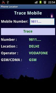 Phone Locator(Indian mobile) apk screenshot