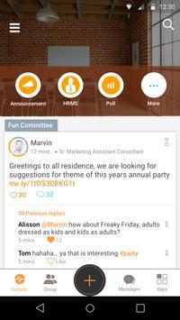 Groupe.io apk screenshot