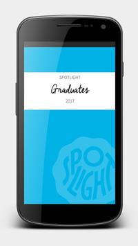 Graduates Spotlight 2017 poster
