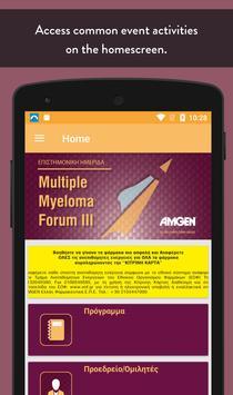 Multiple Myeloma Forum Events apk screenshot