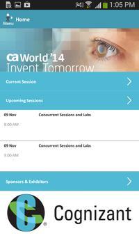 CA World '14 poster
