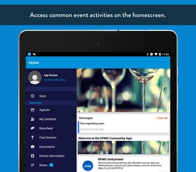 KPMG Switzerland Community apk screenshot