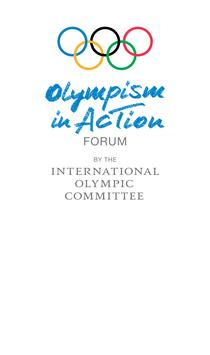 Olympism in Action poster