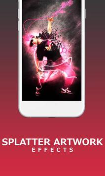 Splatter ArtWork Effects Photo Editor Tool Studio screenshot 4