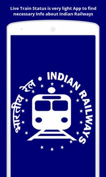 Live Train Status(IRCTC) poster