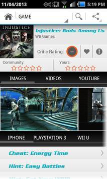 All the Game Cheats FREE apk screenshot