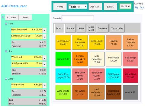 Restaurant / Cafe - POS & Kitchen Display System APK Download - Free ...