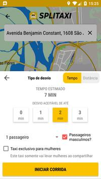 Splitaxi Motorista screenshot 2
