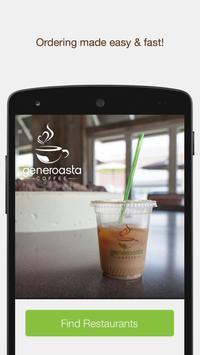 Generoasta Coffee poster
