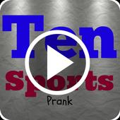 Ten Sports Live Prank icon