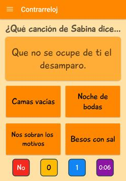 Sabina Quiz apk screenshot