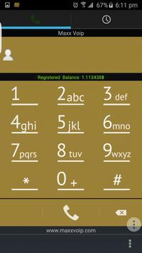 Maxxvoip Dialer No-2 screenshot 1