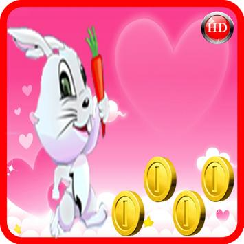 Hungry bunny Run Game screenshot 1