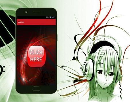 Aimer - Brave Shine New Lyrics and Songs apk screenshot