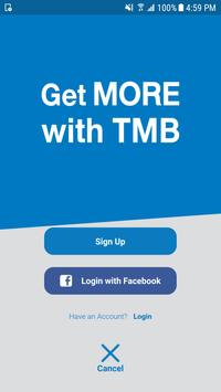 Get MORE with TMB apk screenshot