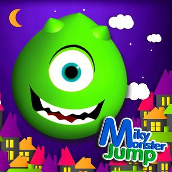 Miky Monster Jump poster