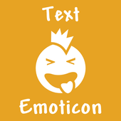 Cool Text Emoticon icon
