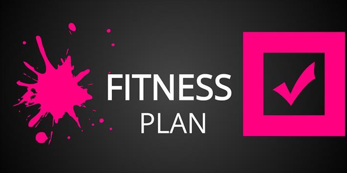 Fitness Plan poster
