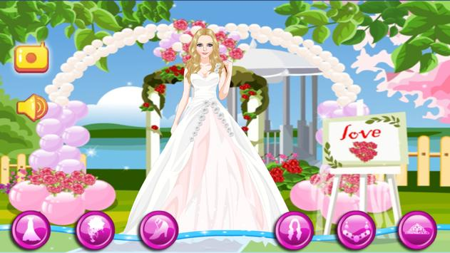 Wedding Dress up Game For Girls poster