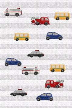Car for baby poster