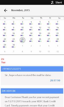 smsDiary apk screenshot