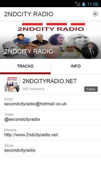 2NDCITY RADIO screenshot 1