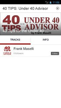 40 TIPS: Under 40 Advisor apk screenshot