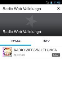 Radio Web Vallelunga screenshot 1