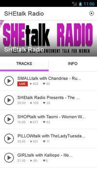SHEtalk Radio poster