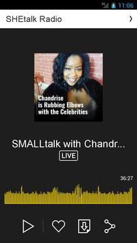 SHEtalk Radio apk screenshot