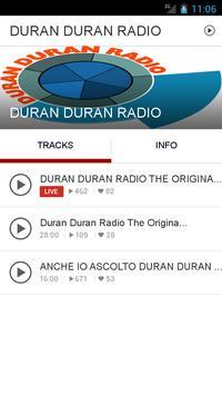 DURAN DURAN RADIO poster