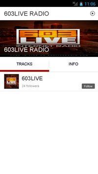 603LIVE RADIO apk screenshot