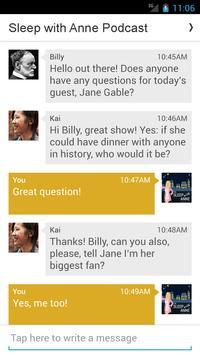 Sleep with Anne Podcast apk screenshot