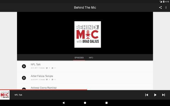 Behind The Mic apk screenshot