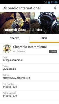Cicoradio International apk screenshot