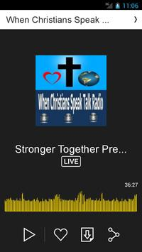 When Christians Speak App. apk screenshot