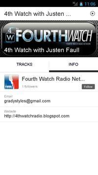 4th Watch with Justen Faull apk screenshot