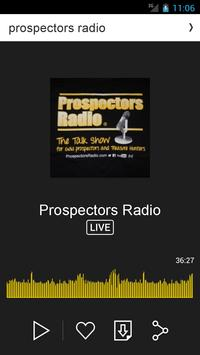 prospectors radio apk screenshot