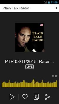 Plain Talk Radio apk screenshot