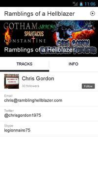 Ramblings of a Hellblazer apk screenshot