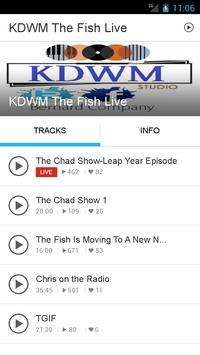 KDWM The Fish Live poster