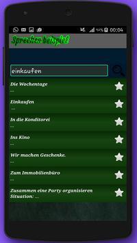 B1 sprechen Mündliche Prüfung apk screenshot