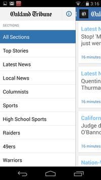 Oakland Tribune apk screenshot