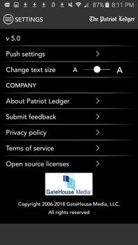 The Patriot Ledger, Quincy, MA screenshot 7