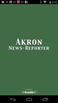 Akron News-Reporter poster