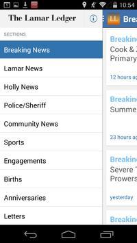 Lamar Ledger apk screenshot