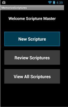 Memorize Scriptures poster