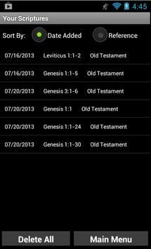Memorize Scriptures apk screenshot