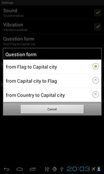 Capital City Quiz apk screenshot
