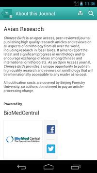 Avian Research apk screenshot